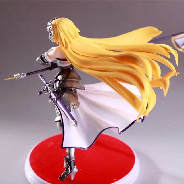 Fate Grand Order Joan of Arc Action Figure Waving Flags PVC Action Figure Collectible Model Toy no retial box (Chinese Version) 5