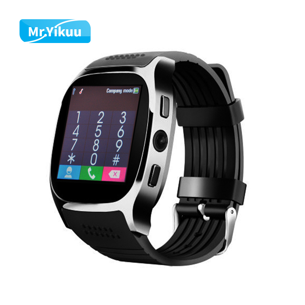 Smart Watch T8 Clock Sim Card Push Message Bluetoothband Connectivity For Android IOS Apple Phone PK Q18 DZ09 Smartwatch Xioami smart watch q18 gold