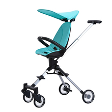 High Landscape Baby Stroller Children Trolley Foldable Baby Carriage Lightweight Two-way Kinderwagen Triciclo Infantil Pushchair 4 8kg lightweight baby stroller foldable portable four wheel stroller baby pushchair kinderwagen high landscape baby strollers