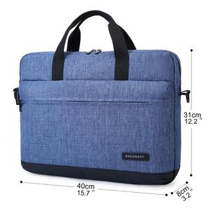 Image 5 - BAGSMART 15.6 Inch Laptop Briefcase Bag Handbag Nylon Briefcase Office Bags Business Computer Bags Blue