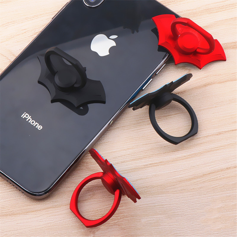 SIANCS Fashion Bat Phone Stand for IPhone11pro XS Xiaomi Samsung Cool Finger Ring <font><b>Holder</b></font> Tablet <font><b>Smartphone</b></font> <font><b>Desk</b></font> Bracket image