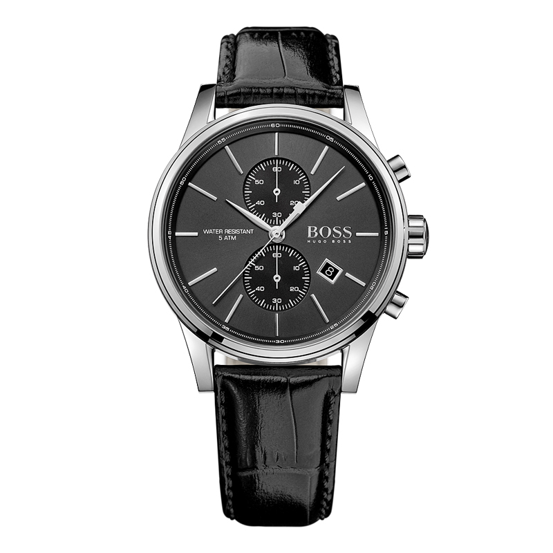 BOSS Германия часы для мужчин Элитный бренд Модные Бизнес Ретро multi-function хронограф кожаный ремень relogio masculino