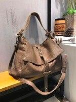Vendange оригинальная модная сумка ручной работы из натуральной кожи объемная сумка через плечо 2499