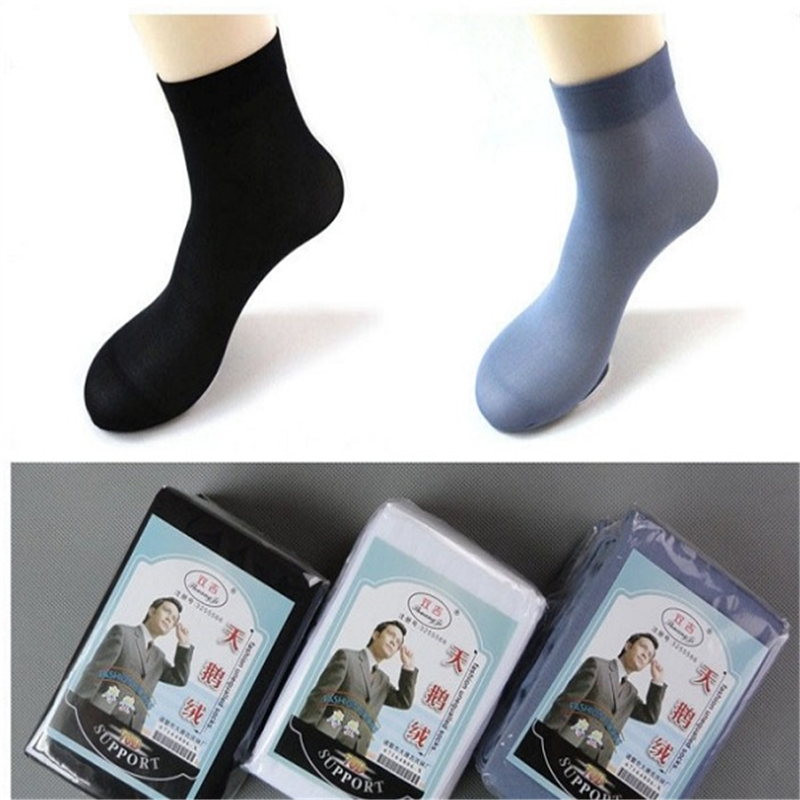 10 pairs/lot Mens Socks Big size fiber nylon summer spring, man soks sox,stocking, silk, ...