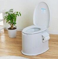 Высококачественный пластиковый нескользящий Портативный передвижной Туалет Горшок для пожилых беременных, сиденье для унитаза, утолщенна