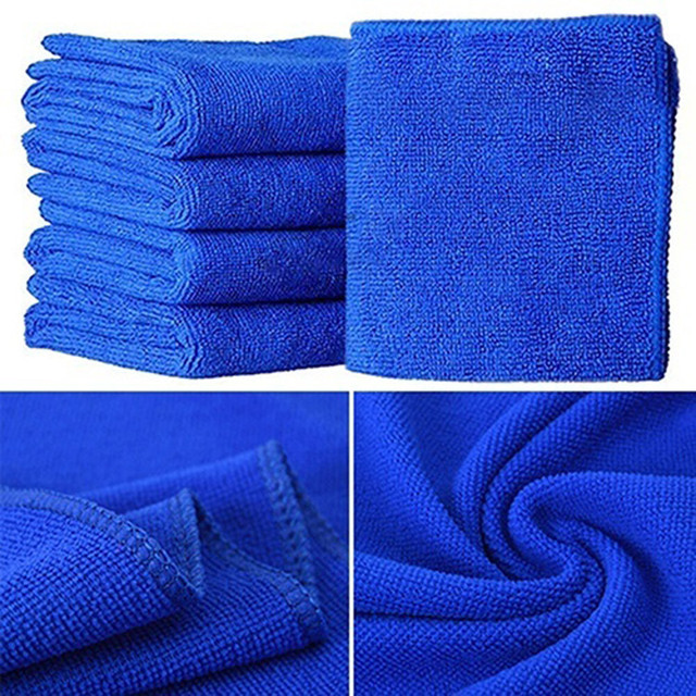 5Pcs Car Cloth Cleaning Duster Microfiber Car Wash Towel Auto Care Detailing tool cloth 2019 Accessories