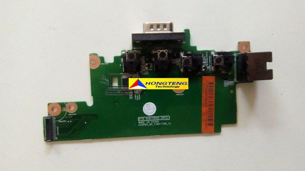 Original FOR HP Probook 6570B VGA LAN Ethernet Board 010172P00-JD9-G Full TESED OK