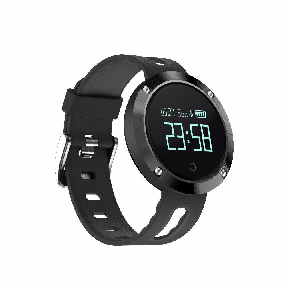 DM58 Bluetooth 4 0 Smart Watch Heart RateBlood Pressure Fitness Tracker Waterproof Sports Watch for