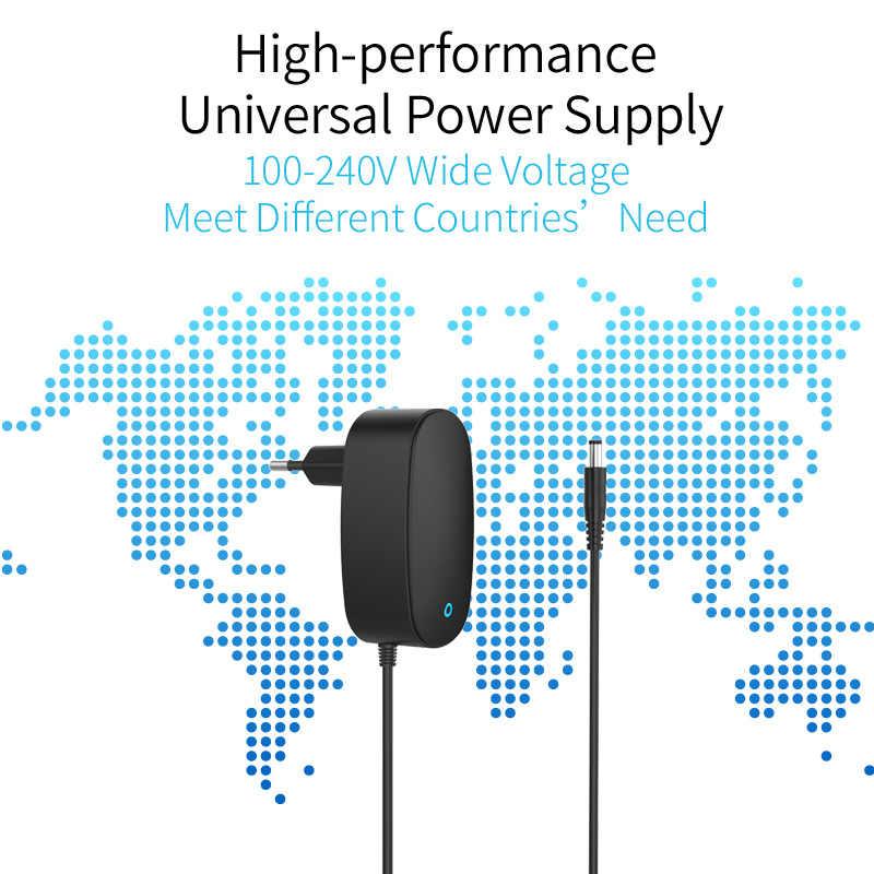 ORICO DC адаптер 12 В 2.5A AC 100-240 В 5,5 мм конвертер адаптер универсальное настенное зарядное устройство Блок питания ЕС вилка адаптер питания