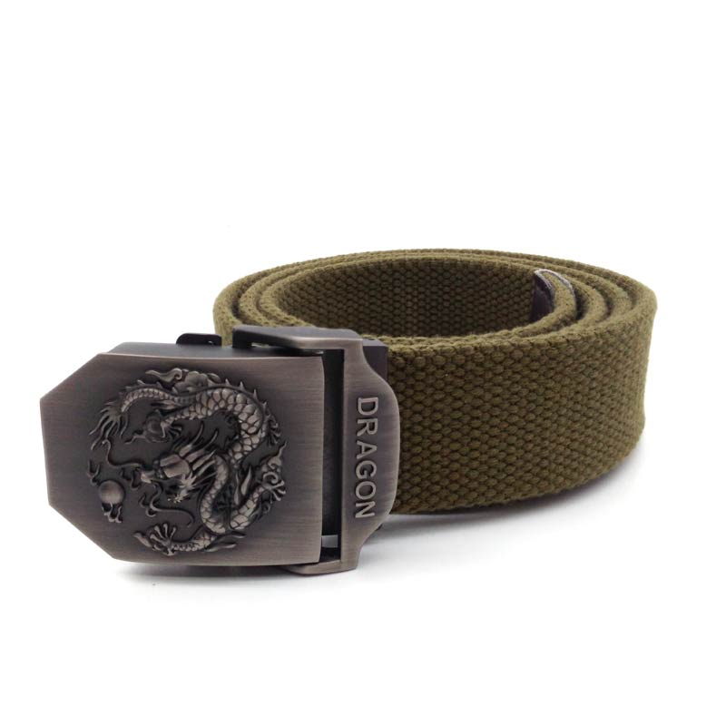 Vinage Canvas belt men military belts army green tactical belts mens strap buckle ceinture free shipping