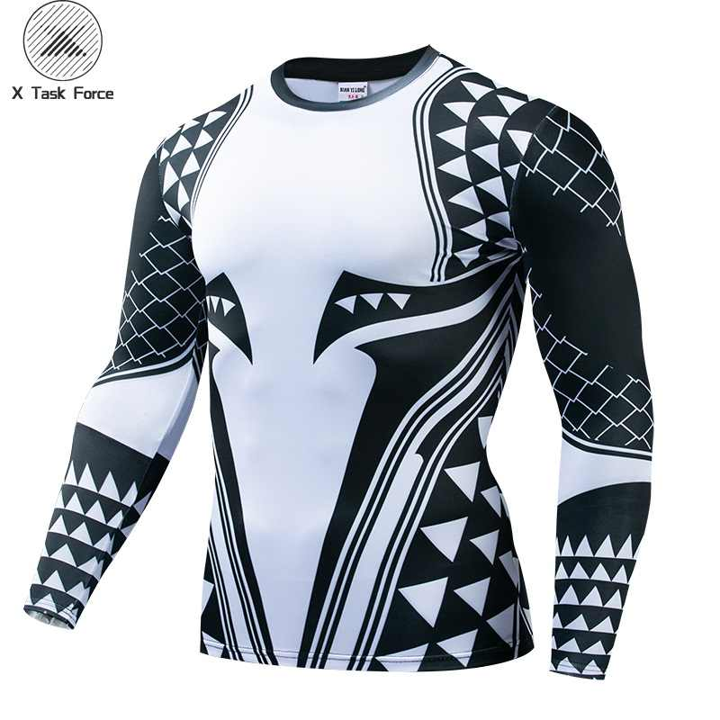 Aquaman компрессионная футболка мужские 3D футболки с принтом для мужчин 2019 новейший Шаблон Косплей Костюм короткий рукав топы для мужчин одежда