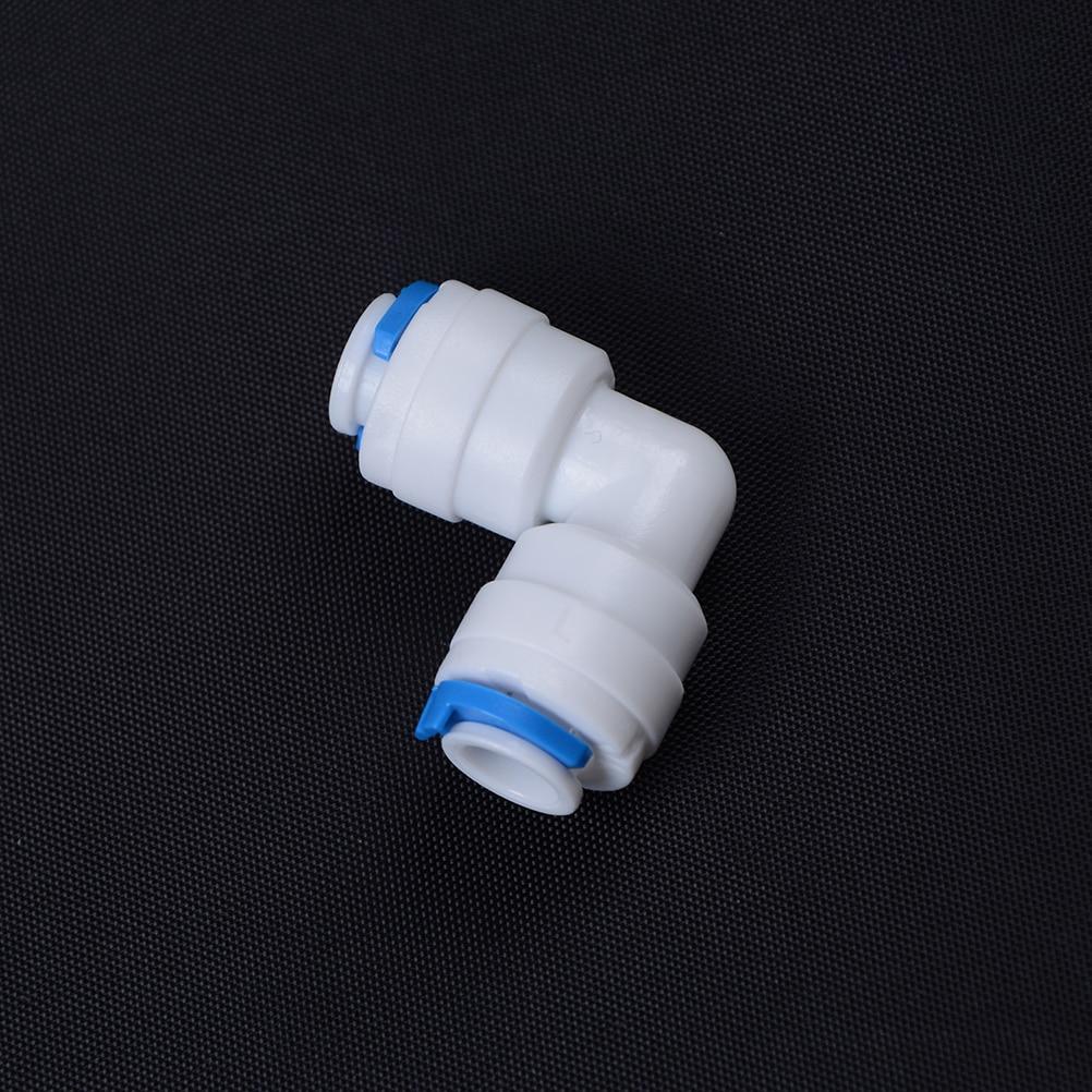 Humorvoll Pom Rohr Fitting Schlauchverbinder Ellenbogen Schnellkupplung 1/4 od Schlauch Aquarium Ro Wasserfilter Umkehrosmose System Rohrverbindungsstücke Heimwerker