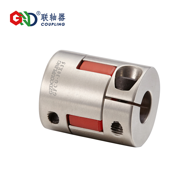 shaft Coupler GFCG stainless steel plum type clamping series Shaft Couplings gig stainless steel parallel wire series shaft couplings d63 l71 d63 l90