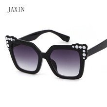 JAXIN Fashion butterfly Sunglasses Women personality color trend wild Sun Glasses brand design modern goggles UV400 oculos 2019
