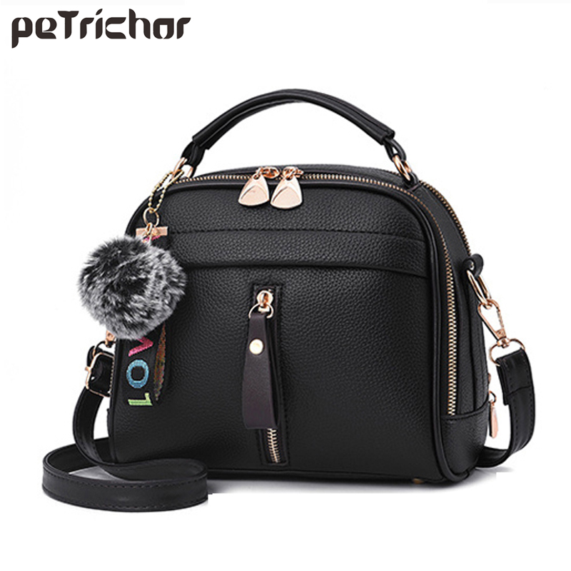 Petrichor Fashion Messenger Bag Women Leather Mini Shoulder Crossbody Tote Bags For Ladies Small Pendant Handbag Female Purse стоимость