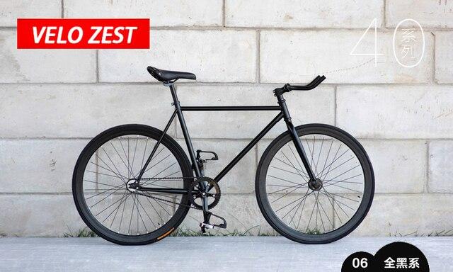 1 шт. fixie велосипедов Fixed gear велосипед 46 см 52 см 56 см DIY односкоростной Дорожный велосипед трек fixie велосипедов fixie велосипед