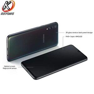 """Image 5 - الهاتف المحمول الجديد سامسونج غالاكسي A70 A7050 6.7 """"8GB RAM 128GB ROM سنابدراجون 675 ثماني النواة 20:9 قطرة الماء شاشة NFC الهاتف المحمول"""