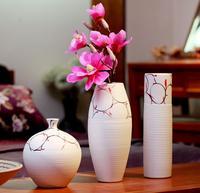Домашняя столешницы, вазы, украшения, современный Цветочная композиция, ручной работы Керамические, фарфоровая ваза