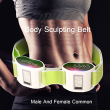 New Arrival Relaxation Body waist arm leg massage belt loose weight vibrator Physio Electric Burning shaking machine thin belly