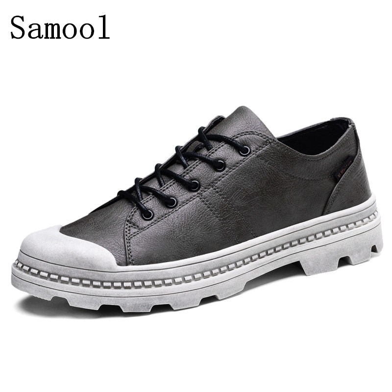 2017 British Style Men Casual Shoes Casual Leisure Shoes Genuine Leather Shoes Breathable For Men's Footwear Loafers Mens Flats bimuduiyu new england style men s carrefour flat casual shoes minimalist breathable soft leisure men lazy drivng walking loafer