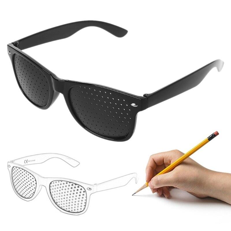 1pcs New Vision Care Corrective Improve for Pinhole Small Anti-fatigue Eye Protection Glasses