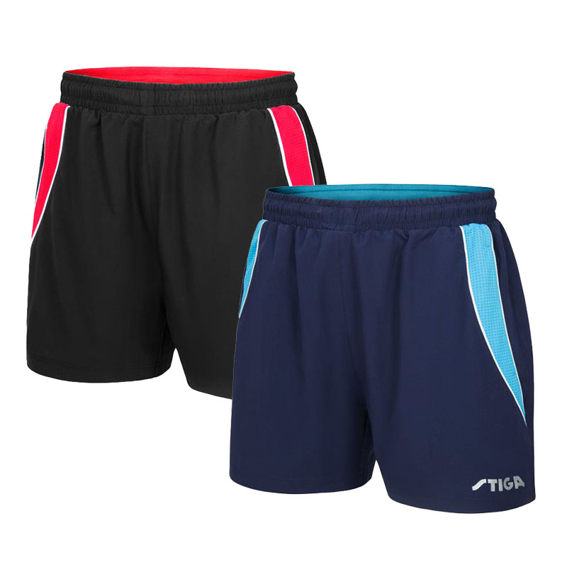 SHORTS Table-Tennis-Shorts STIGA For Pingong Trunks Rackets Racquet Professional New