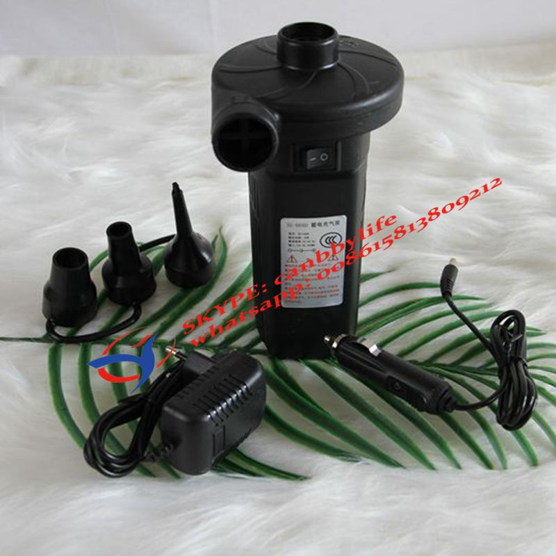 Quick Fill AC 100 240 V Electric Rechargeable Air Pump ...