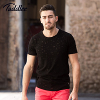 Taddlee Brand Fashion New Men S Tshirts Casual O Neck Top Tee Shirts Short Sleeve Cotton