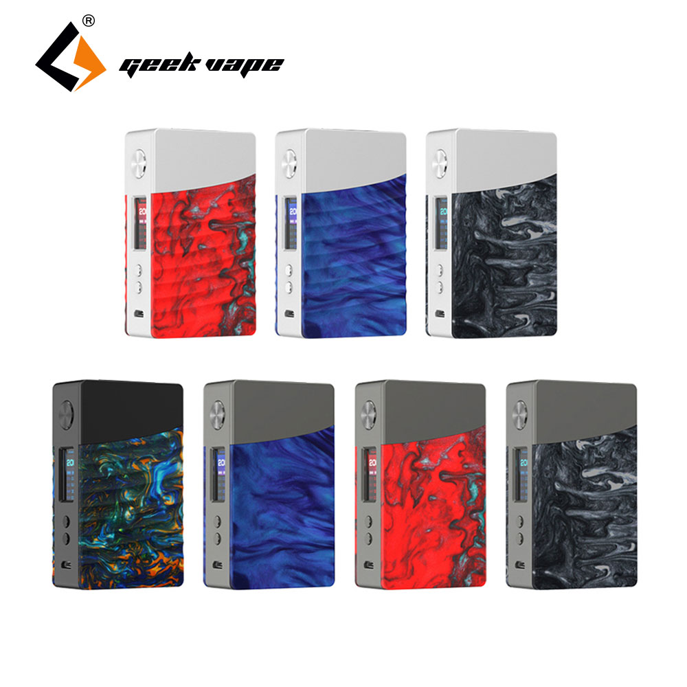Original 200W TC GeekVape NOVA Caixa MOD com Avançados COMO Chip de Saída de 200W Max N ° 18650 Caixa de Bateria lenda Mod Vape Mod Vs Égide