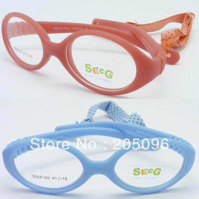 Розничные продажи 3554100 девушка окружающей TR90 гибкие безопасности progresive овальные оправы для очков с регулируемым ремешком бесплатная доставка