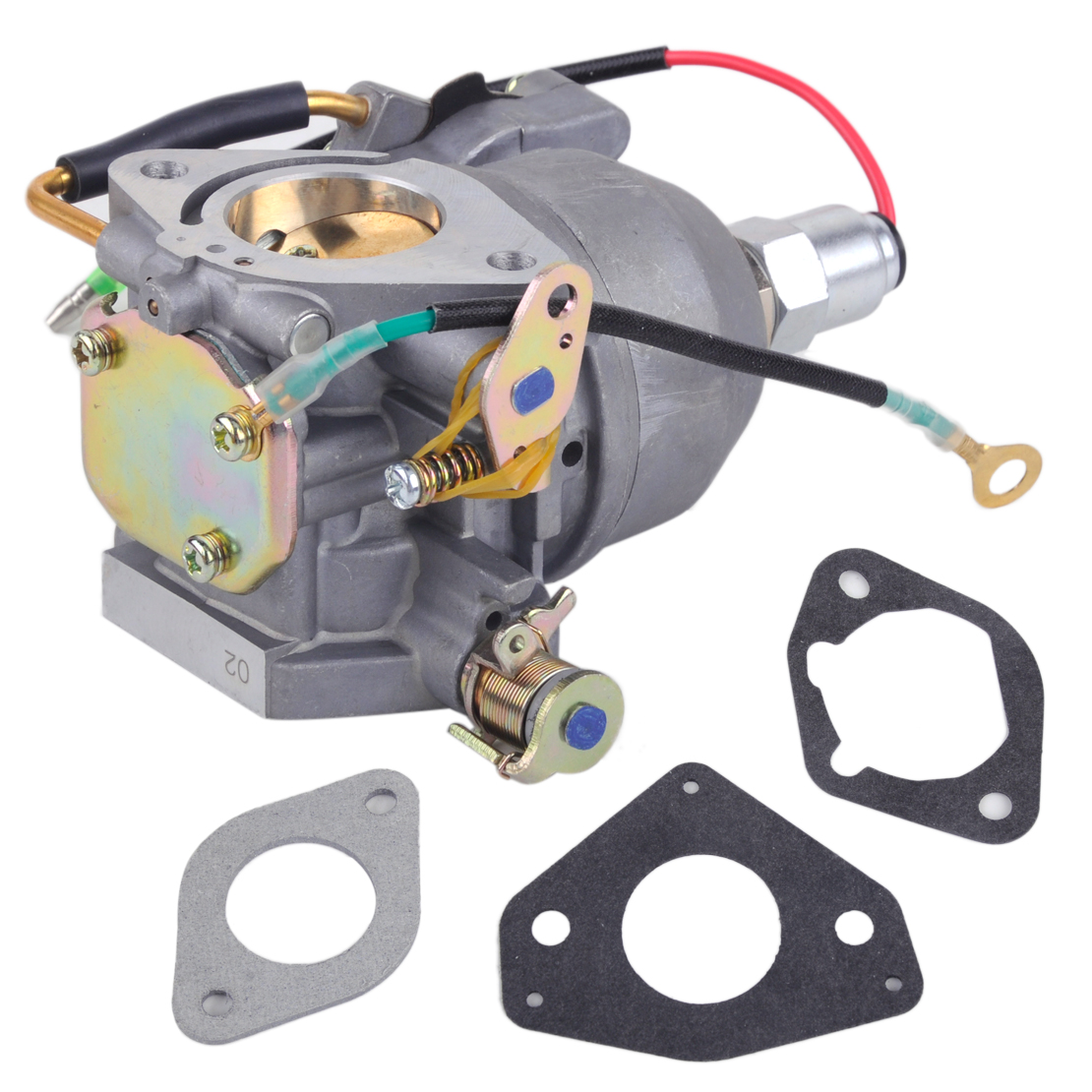 цена LETAOSK New Carburetor Carb with Solenoid Auto Engine Part fit for Kohler CV730 CV740 24853102-S 24-853-102 Replacement Set