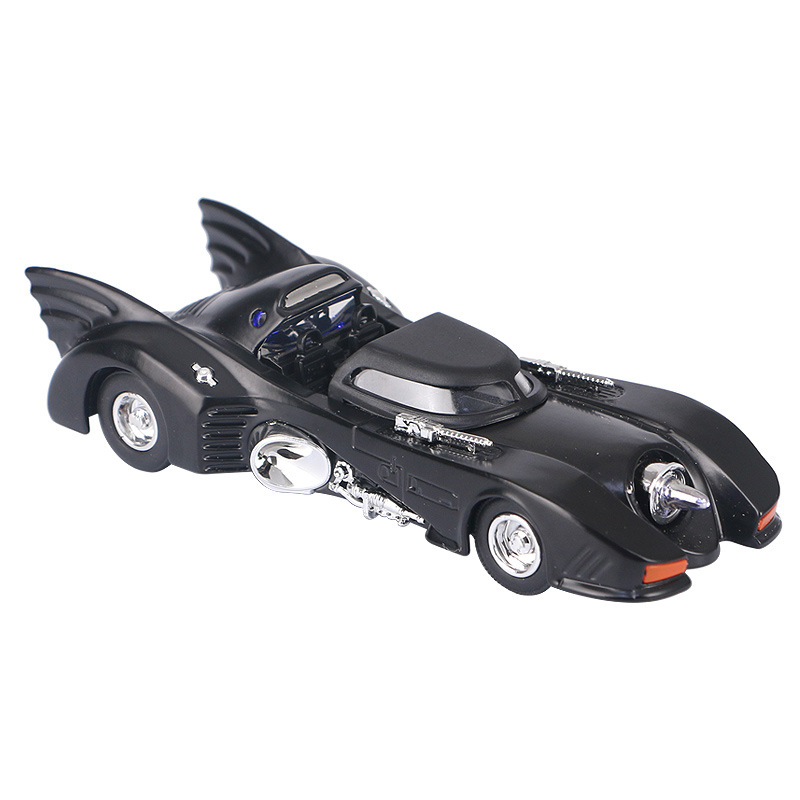 Electric Alloy mkd3 Scale Car Models Die-cast coche Toys for Children mkd3 1:32 auto Vehicle Batman Bat Mobile With Sound Light
