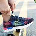 Summer High Quality Men Female causal Shoes Fly Weaving Technology Breathable lightweight shoes zapatillas deportivas hombre