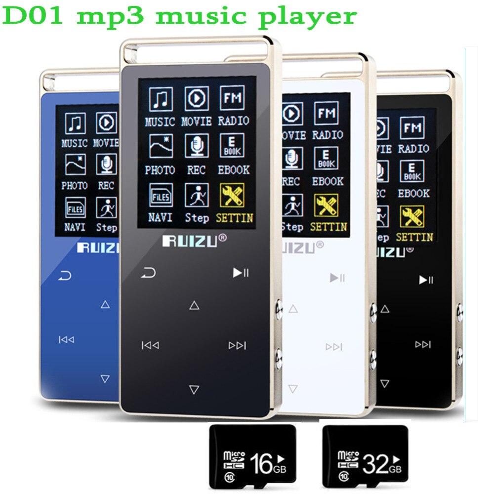 Ultradünne Original Ruizu Mp4 Player 8 Gb Touch Screen 1,8 Zoll Voice Recorder Fm E-buch Uhr Video Usb Mp4 Musik Sound SpäTester Style-Online-Verkauf Von 2019 50% Mp4 Player