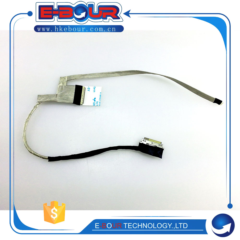10pcs Flex LVDs Cable For Toshiba C800 L840 L830 L800 C800 C805 L805 C805D C845 DD0BY3LC100 Lcd Cable-in Cables from Consumer Electronics    1