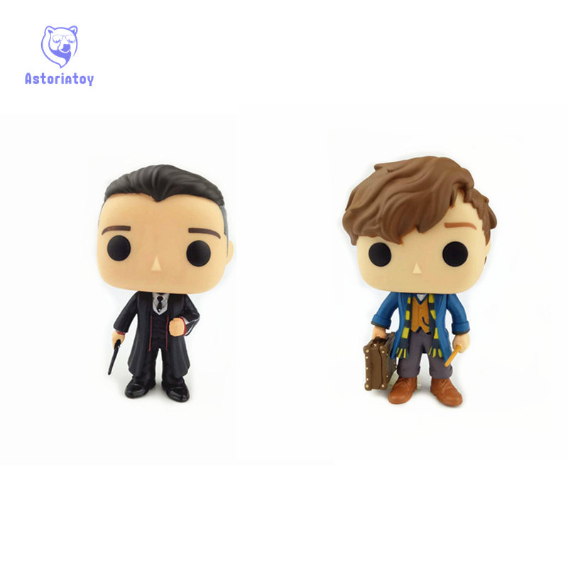NEW 10cm Fantastic Beasts and Where to Find Them PERCIVAL GRAVES action figure Bobble Head Q Edition no box for Car Decoration the photographer s guide to san francisco – where to find perfect shots and how to take them