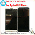 Para blackberry z10 4g versión original nueva pantalla lcd completo + pantalla táctil digitalizador + marco negro herramientas gratuitas, envío libre