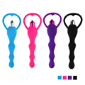 4 Colors Anal Beads Butt Plug Vibrator, Masturbation Dildo Anal Vibrator, Sex Toys for Woman Prostate Anal Beads Adult Products