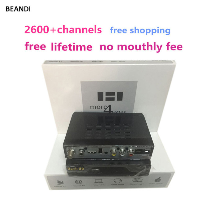 The best Arabic iptv box Satellite receiver wifi includes 2600+Arabic UK France Germany Sweden Norway channels free lifetime