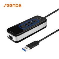 SeenDa USB 3 0 Network Card HUB Internet Adapter Super Speed External 3 Port USB For