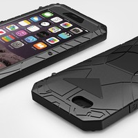 New Nergy Armor Waterproof Shockproof Design Aviation Aluminum Alloy Metal Case For Iphone 6 4 7