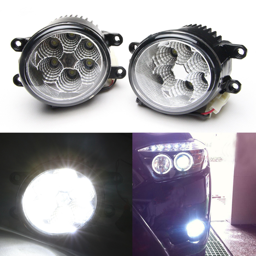 For REIZ 2011~ High quality LED Daytime running lights front Fog lamp lights for toyota RAV4 for Camry for AVALON for PRADO чехлы для автокресел yuxuan toyota camry vios reiz rav4