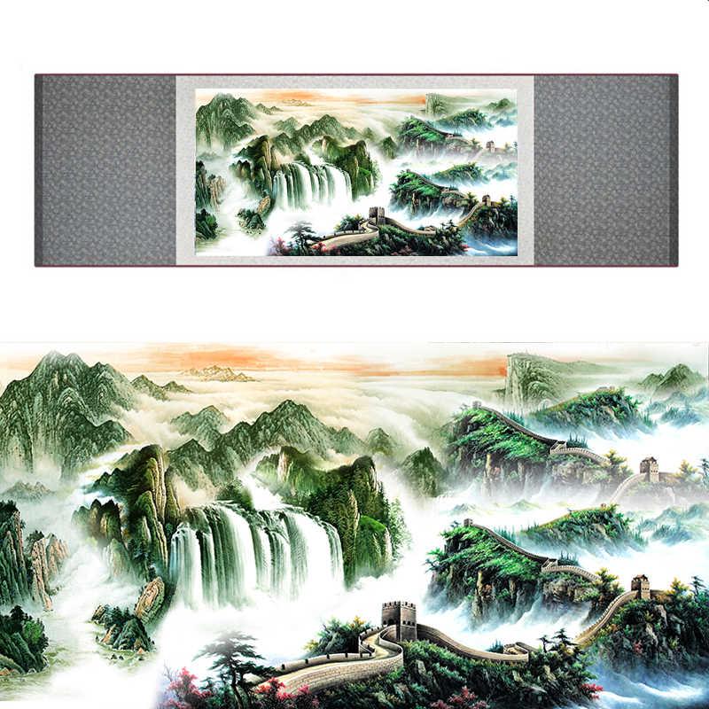 Высокое качество кран и великая настенная живопись украшение для дома офиса