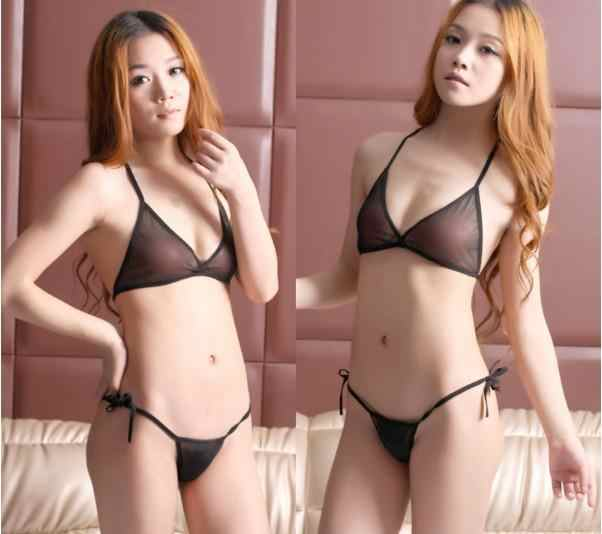2019 Sexy Micro Mini Bikini Set Women Transparent Swimwear Tiny Bikinis Set Brazilian  Biquinis Swimsuit Beachwear