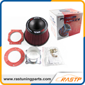 RASTP - Apexi Universal Car Vehicle Intake Air Filter 75mm Dual Funnel Adapter Air Cleaner Protect Your Piston LS-OFI011