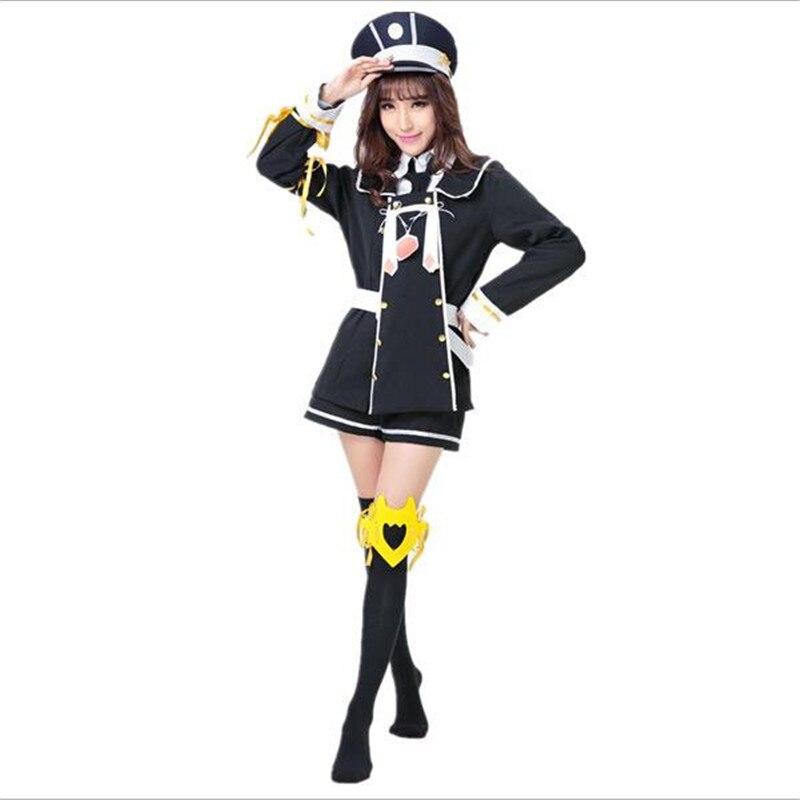 Japonais Anime K Neko Cosplay Costume robe adulte filles Halloween blâmer livraison gratuite