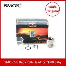 Original Smok TFV8 Bebê Besta RBA Head (Cabeça Atomizador Rebuildable) para FUMAR TFV8 Besta Besta e Grande Do Bebê Do Bebê