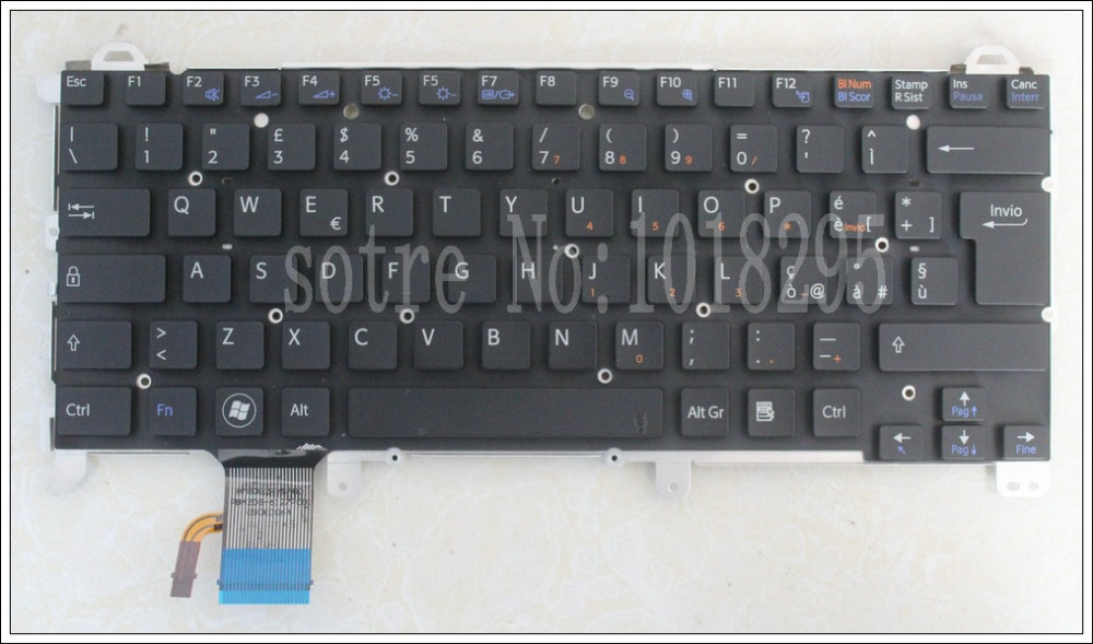 NEW Laptop Italy QWERTY replacement keyboard for Sony vpc z1 vpcz1 PCG-31113T 31112T 31111T with backlit new laptop swiss qwerty replacement keyboard for sony vpc z1 vpcz1 pcg 31113t 31112t 31111t with backlit