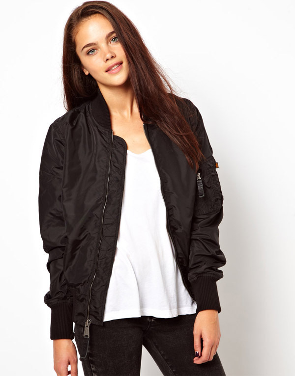Girls Bomber Jacket With Hood - My Jacket