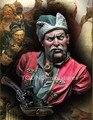 1/10 Escala Modelo Figura de Resina Busto cossacos Kit Frete Grátis
